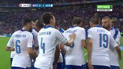 Бельгия - Италия, Гол, 0-1, Джаккерини
