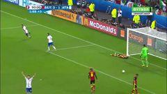 Бельгия - Италия, Гол, 0-2, Пелле