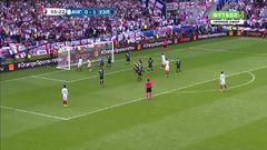 Англия - Уэльс, Гол, 1-1, Варди