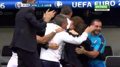 Италия - Швеция, Гол, 1-0, Эдер