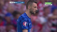 Чехия - Хорватия, Голевой момент, Брозович