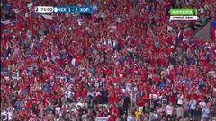 Чехия - Хорватия, Гол, 1-2
