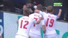 Чехия - Хорватия, Гол, 2-2, Нецид (с пенальти)