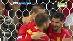 Испания - Турция, Гол, 3-0, Мората