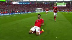 Россия - Уэльс, Гол, 0-2, Тэйлор