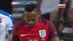 Словакия - Англия, Опасный момент, Клайн