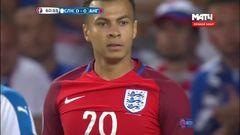 Словакия - Англия, Голевой момент, Алли