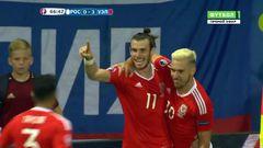 Россия - Уэльс, Гол, 0-3, Бэйл
