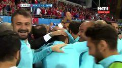 Чехия - Турция, Гол, 0-2, Озан
