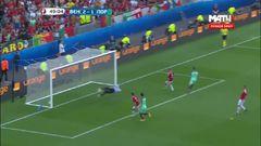 Венгрия - Португалия, Гол, 2-2, Роналду