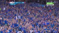 Исландия - Австрия, Гол, 2-1, Траустасон