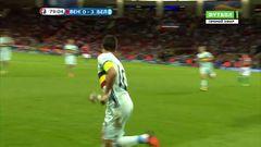 Венгрия - Бельгия, Гол, 0-3, Азар