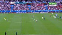 Италия - Испания, Голевой момент, Пике