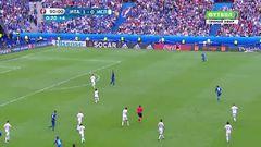 Италия - Испания, Гол, 2-0, Пелле