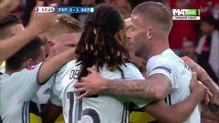 Уэльс - Бельгия, Гол, 0-1, Наингголан