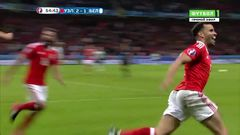 Уэльс - Бельгия, Гол, 2-1, Робсон-Кану