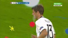 Германия - Италия, Опасный момент, Мюллер