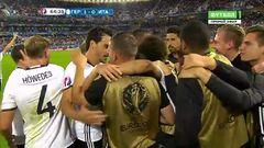 Германия - Италия, Гол, 1-0, Озил