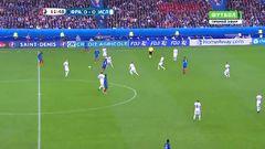 Франция - Исландия, Гол, 0-1, Жиру