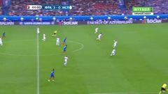 Франция - Исландия, Гол, 4-0, Гризманн