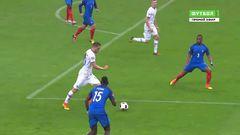 Франция - Исландия, Гол, 4-1, Сигторссон