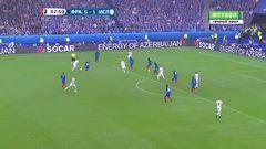 Франция - Исландия, Гол, 5-2, Бьярнасон