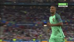 Португалия - Уэльс, Гол, 2-0, Нани