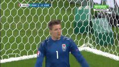 Португалия - Уэльс, Промах, Жоау Мариу