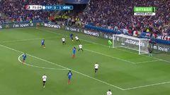 Германия - Франция, Гол, 0-2, Гризманн