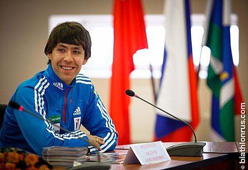 Андрей МАКОВЕЕВ. Фото biathlonrus.com