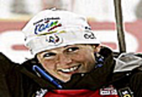 Магдалена Нойнер. Гонка преследования 10 км. Чемпионат мира - 2012. 4 марта 2012 г. Фото REUTERS