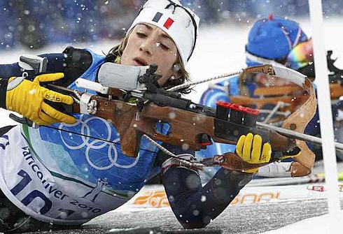 11 февраля 2010 года. Уистлер. Зимние Олимпийские игры. Тренировка. Фото REUTERS