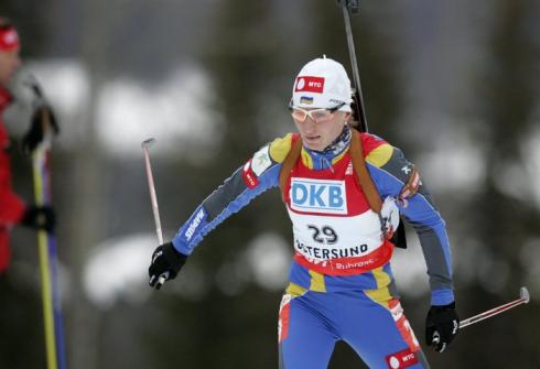 16 февраля 2008 года. Чемпионат мира в Эстерсунде. Масс-старт 12,5 км. Фото REUTERS