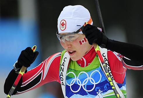 23 февраля 2010 года. Уистлер. Зимние Олимпийские игры. Эстафета 4х6 км. Фото AFP