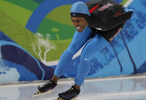 Шани ДЭВИС на Олимпиаде-2010 в Ванкувере. Фото Александра ВИЛЬФА