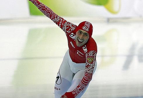 Александр РУМЯНЦЕВ на ЧМ-2013 в Сочи. Фото REUTERS