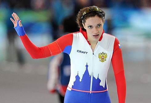 Екатерина ШИХОВА на Олимпиаде-2010 в Ванкувере. Фото AFP