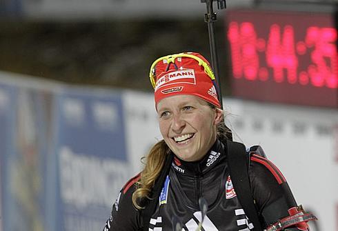1 декабря 2011 года. Этап Кубка мира в Эстерсунде. Индивидуальная гонка 15 км. Фото REUTERS