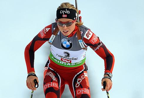 9 декабря 2011 года. Хохфильцен. Этап Кубка мира. Спринт 7,5 км. Фото AFP