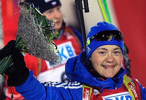 Екатерина ЮРЛОВА. Фото biathlonrus.com
