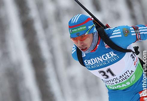 Антон ШИПУЛИН. Фото biathlonrus.com