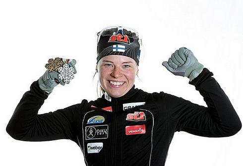 Криста ЛАХТЕНМЯКИ. Фото AFP