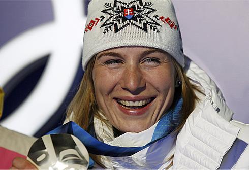Анастасия Кузьмина. Олимпиада Ванкувер - 2010. Фото REUTERS