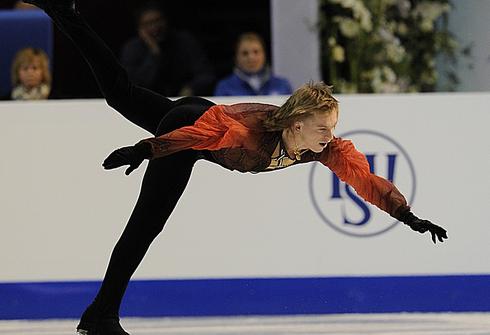 Сергей ВОРОНОВ на ЧЕ-2010 в Таллине. Фото Александра ВИЛЬФА