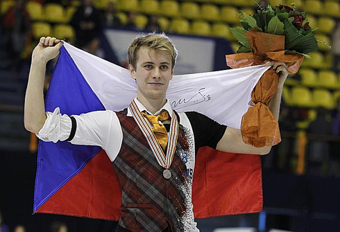 Михал БРЖЕЗИНА с бронзовой медалью ЧЕ-2013 в Загребе. Фото REUTERS