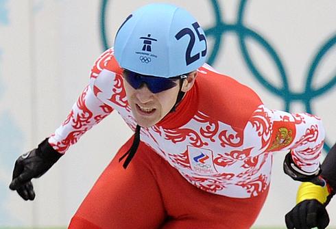 Руслан ЗАХАРОВ на Олимпиаде-2010 в Ванкувере. Фото AFP