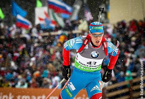 Дмитрий МАЛЫШКО. Фото biathlonrus.com