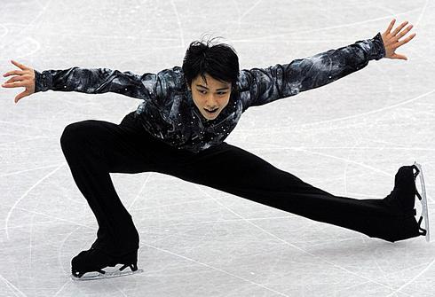 Юзуру Ханью. Фото AFP