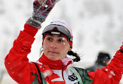 Анастасия Дуборезова. Фото biathlon.by