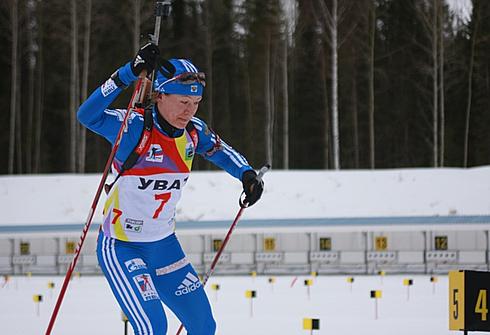 Наталья Бурдыга. Фото www.biathlonworld.com.ua